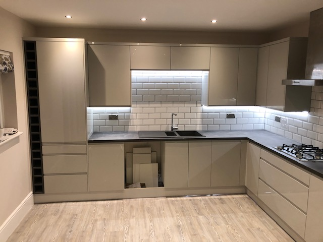Kettering kitchen fitting 2