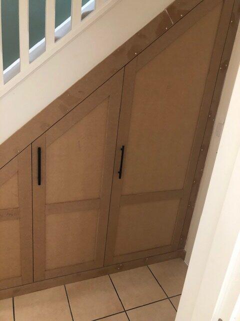 Kettering under stairs storage 3