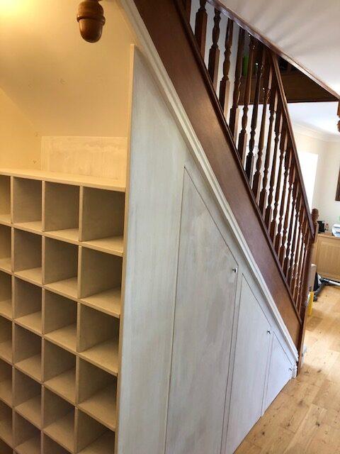 Kettering under stairs storage
