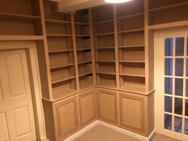 Library carpentry project near Kettering 2