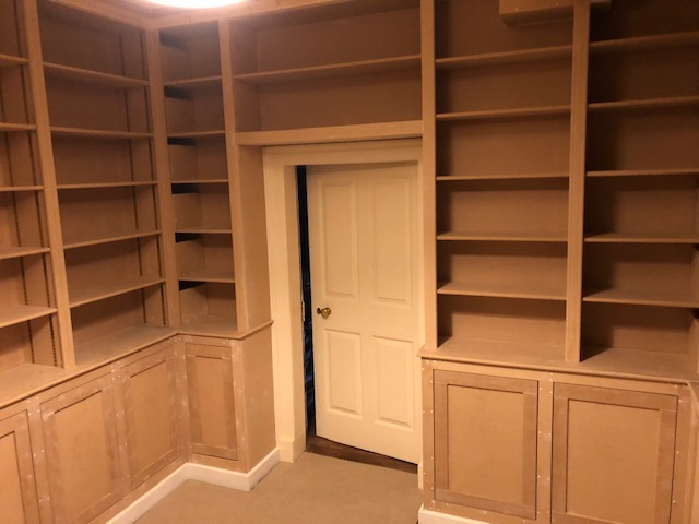 Library carpentry project near Kettering 3