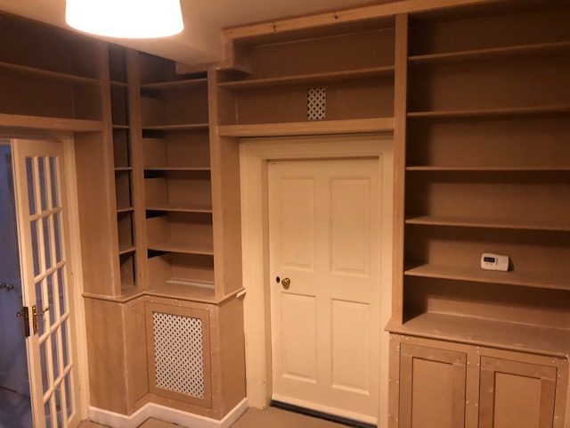 Library carpentry project near Kettering