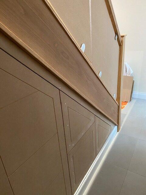 Under stairs storage to match doors